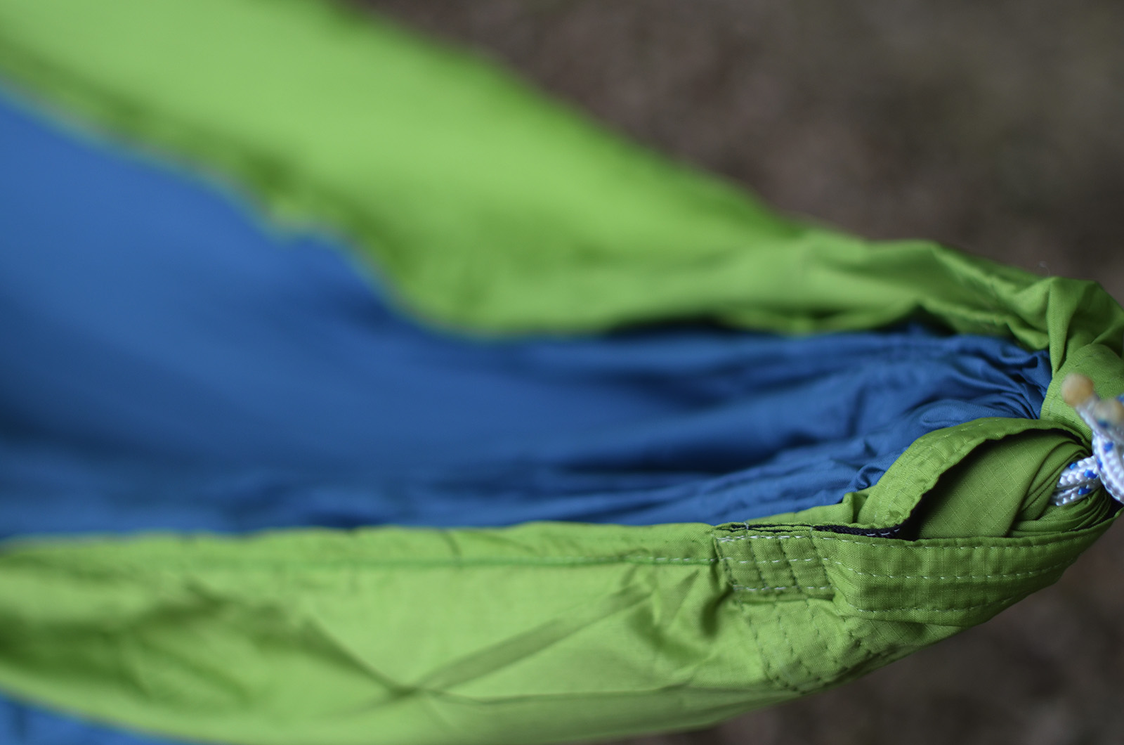 Hamac Ripstop Blue-Green detaliu