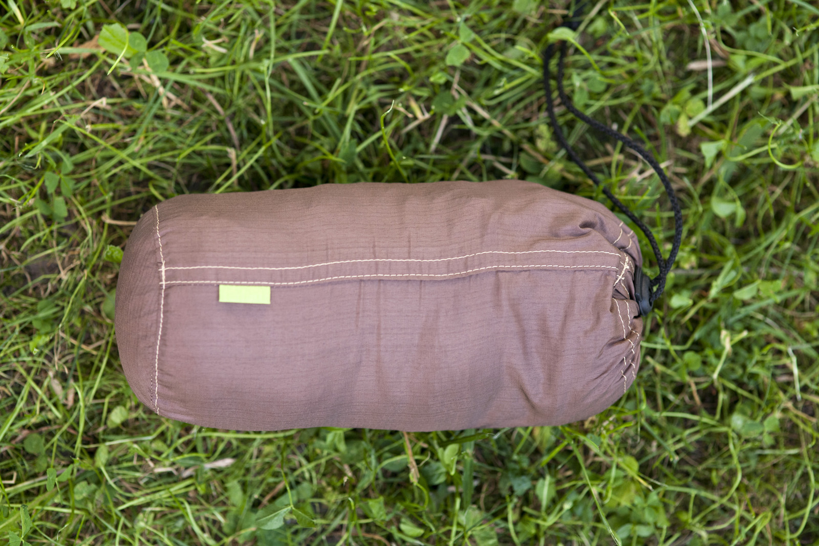 hamac ripstop brown-green saculet 3