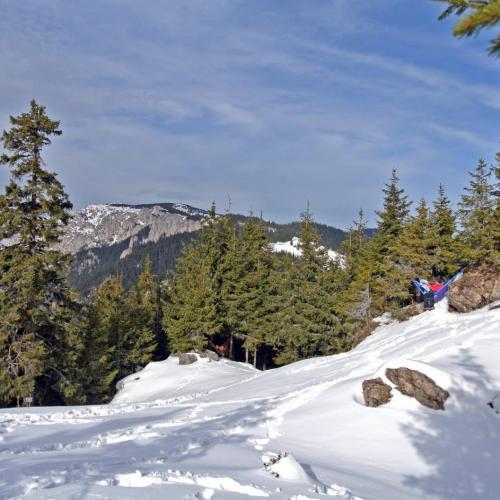 Hamac la munte